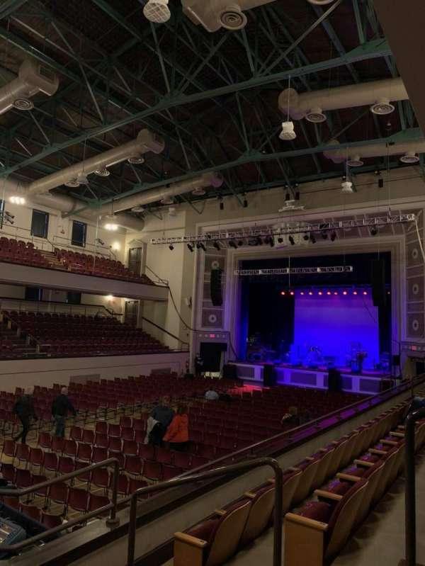 Plymouth Memorial Hall, sección: Mezzanine Right 3, fila: C, asiento: 37