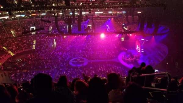 Staples Center, sección: 301, fila: 14, asiento: 2