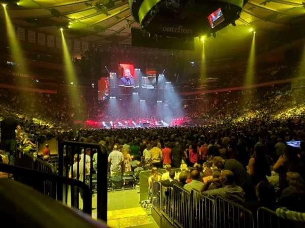 Madison Square Garden, sección: 120, fila: 3, asiento: 3