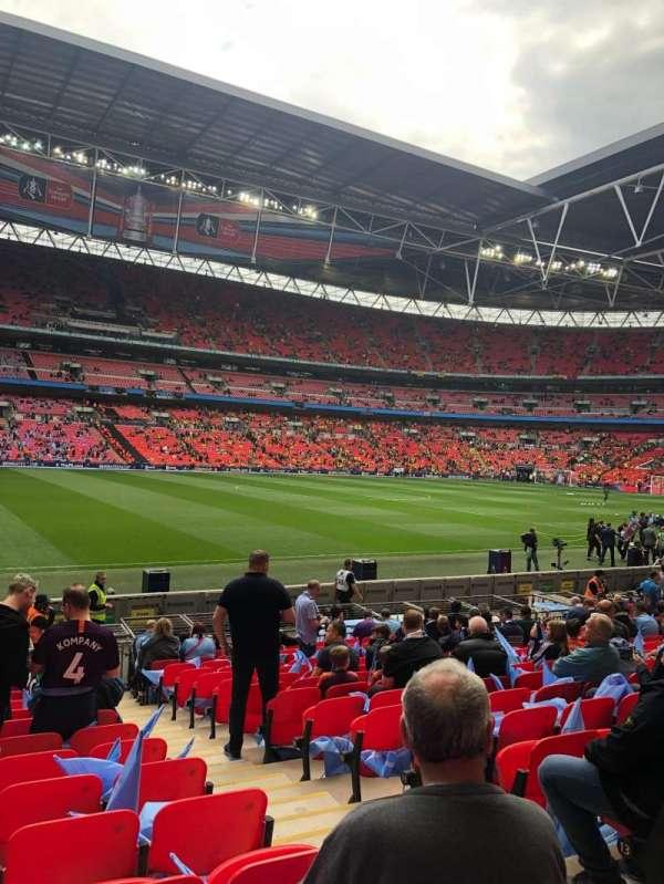 Wembley Stadium, sección: 103, fila: 16