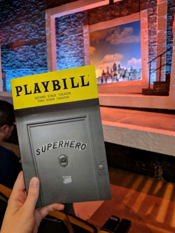 Tony Kiser Theatre, sección: Orchestra, fila: B