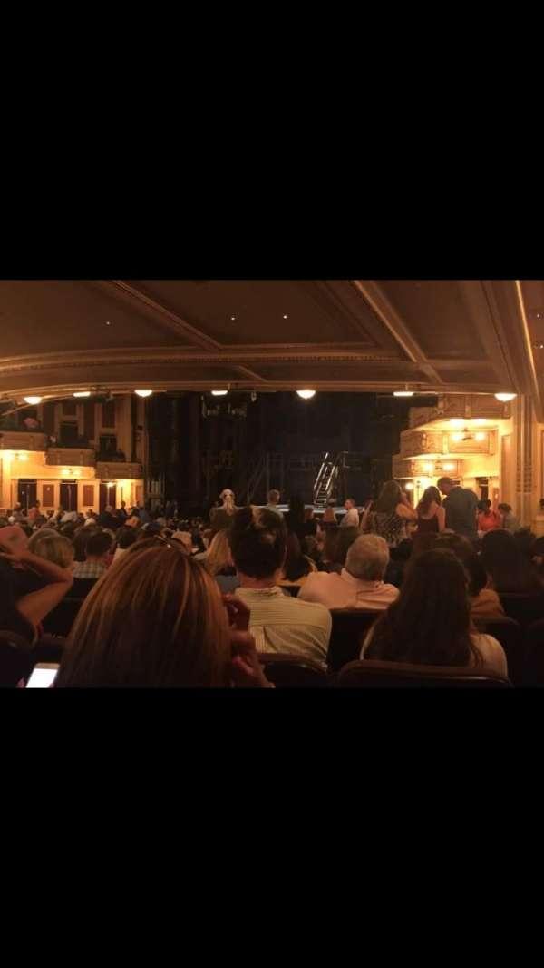 Hippodrome Theatre, sección: Right Orchestra, fila: Y, asiento: 26