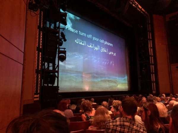 The Kennedy Center Opera House, sección: Orch, fila: L, asiento: 17
