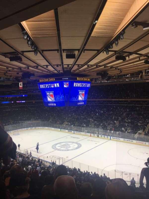 Madison Square Garden, sección: 214, fila: 7, asiento: 9