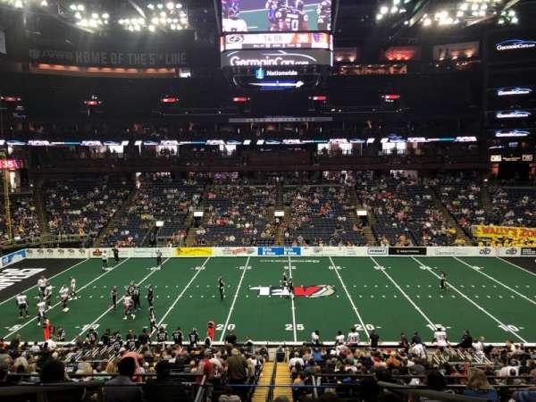 Nationwide Arena, sección: C3, fila: D, asiento: 20