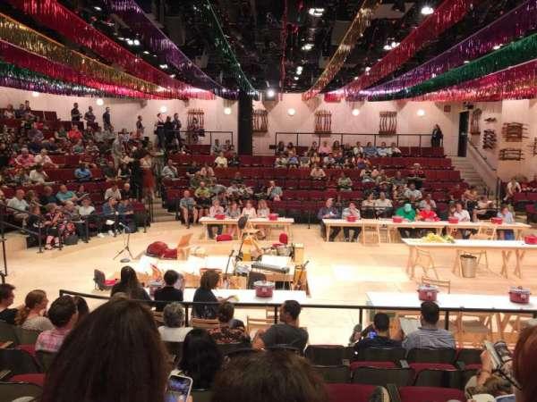 Circle in the Square Theatre, sección: Orchestra 200 (Even), fila: G, asiento: 220