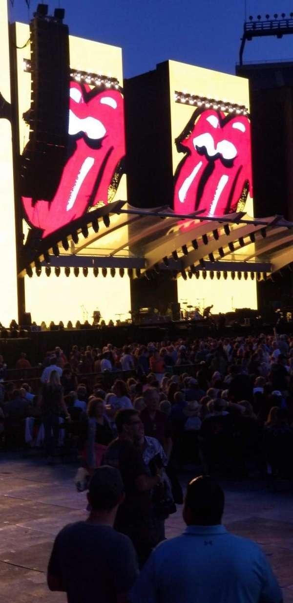 Gillette Stadium, sección: 110, fila: 1, asiento: 5