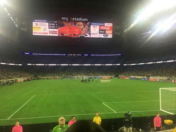NRG Stadium, sección: 138, fila: G, asiento: 3