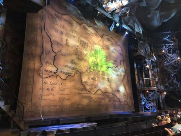 Gershwin Theatre, sección: L Orch, fila: C, asiento: 9
