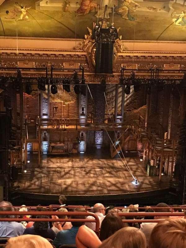 Hippodrome Theatre, sección: Center Upper Balcony, fila: Q, asiento: 301
