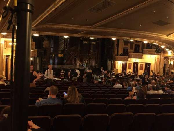 Hippodrome Theatre, sección: Left Orchestra, fila: AA, asiento: 27