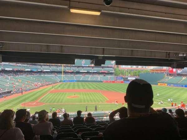 Oriole Park at Camden Yards, sección: 23, fila: 12, asiento: 17