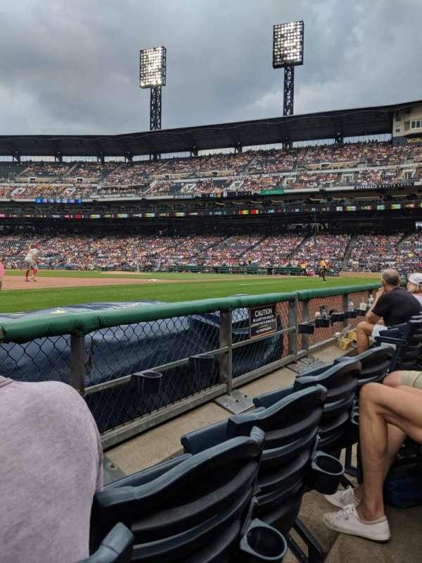 PNC Park, sección: 26, fila: B, asiento: 6