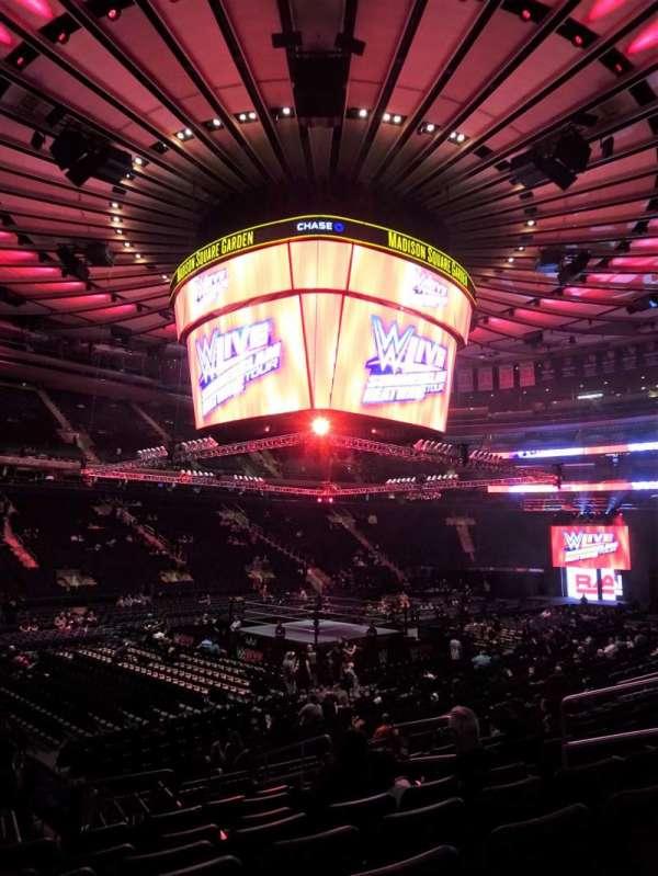 Madison Square Garden, sección: 105, fila: 11, asiento: 9-10
