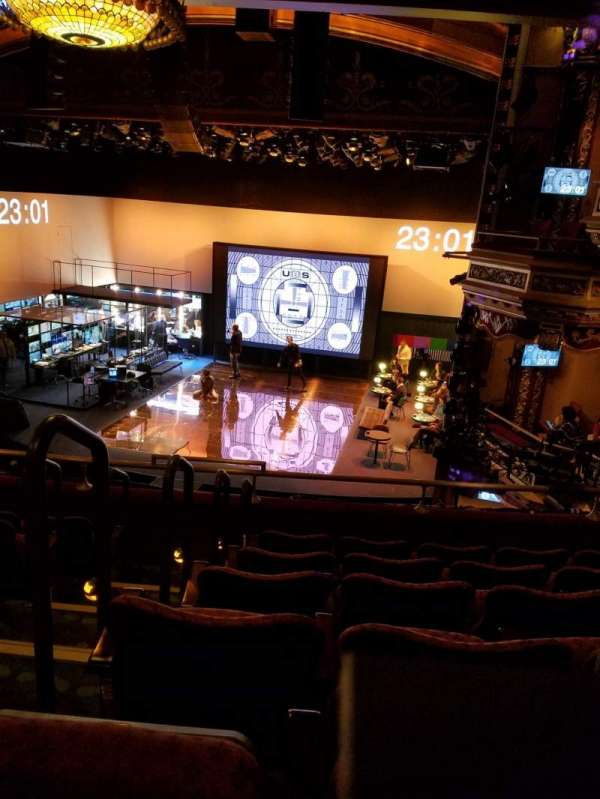 Belasco Theatre, sección: Mezzanine R, fila: F, asiento: 2-4