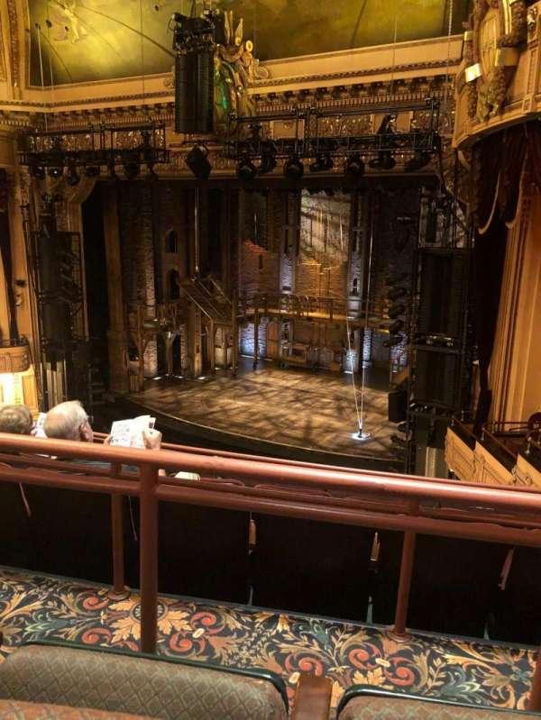 Hippodrome Theatre, sección: Right Middle Balcony, fila: E, asiento: 216