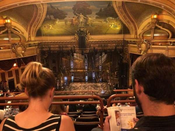 Hippodrome Theatre, sección: Center Upper Balcony, fila: N, asiento: 112