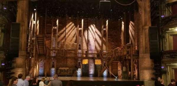 CIBC Theatre, sección: ORCHLC, fila: W, asiento: 109