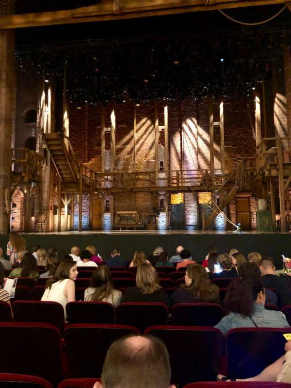 CIBC Theatre, sección: Orchestra C, fila: L, asiento: 109