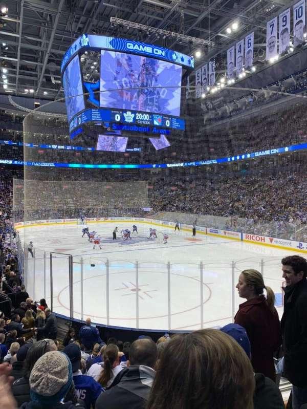 Scotiabank Arena, sección: 115, fila: 16, asiento: 5