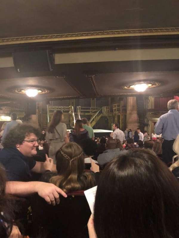 CIBC Theatre, sección: Orchestra L, fila: Z, asiento: 101