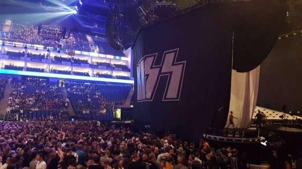 The O2 Arena, sección: 112, fila: G, asiento: 367