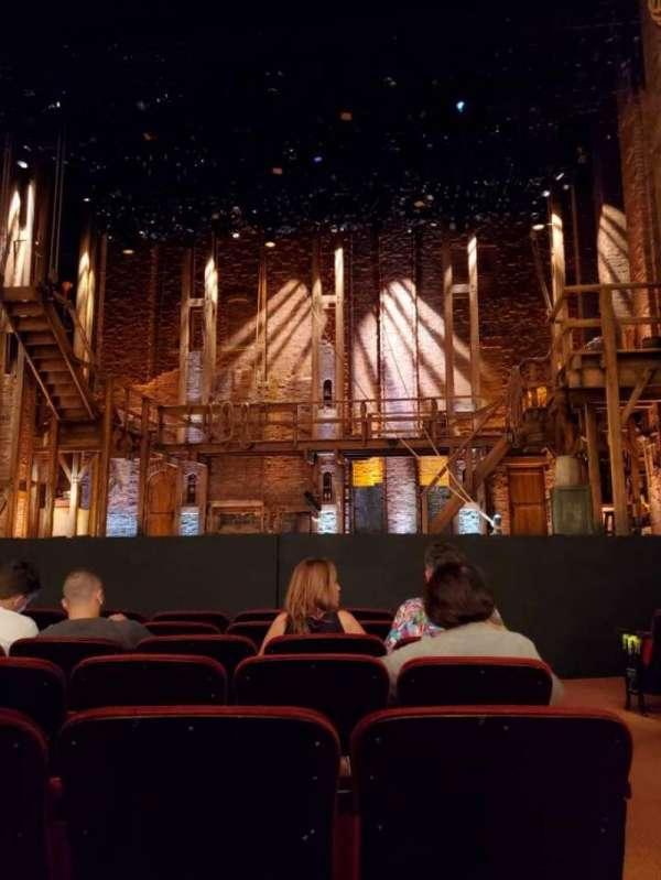 CIBC Theatre, sección: Orchestra C, fila: H, asiento: 110