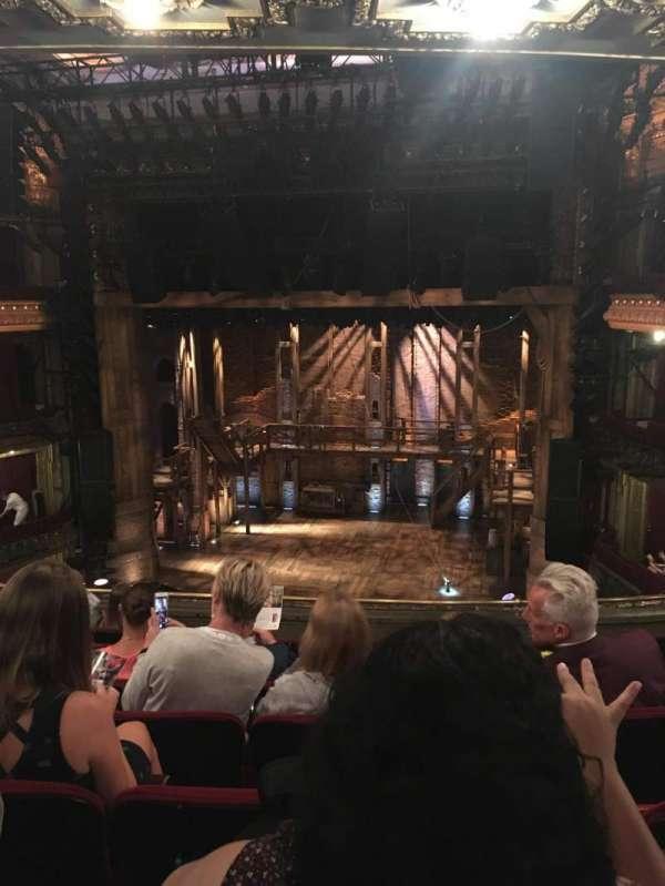 CIBC Theatre, sección: Mezzanine RC, fila: H, asiento: 316