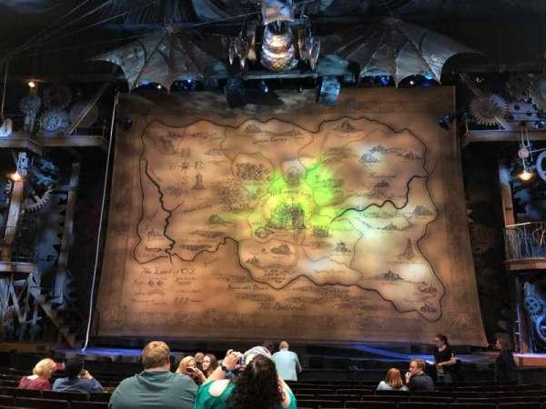 Gershwin Theatre, sección: Orch C, fila: G, asiento: 112