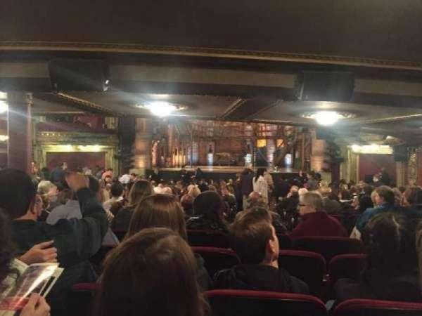 CIBC Theatre , sección: Orchestra C, fila: Z, asiento: 112