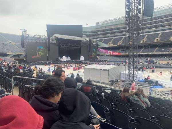 Soldier Field, sección: 134, fila: 14 , asiento: 10