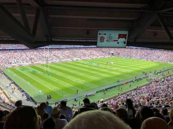 Twickenham Stadium, sección: M13, fila: 75, asiento: 364
