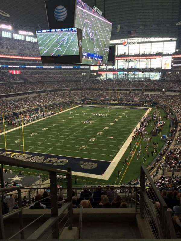 AT&T Stadium, sección: 344, fila: 21