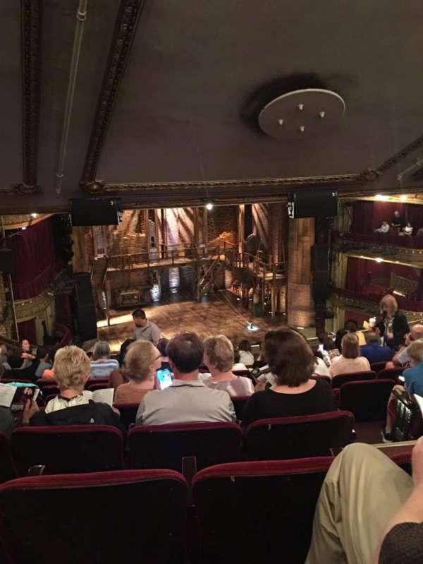 CIBC Theatre, sección: Mezzanine L, fila: L, asiento: 7