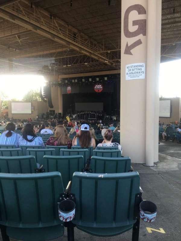Ruoff Home Mortgage Music Center, sección: G, fila: BB, asiento: 33