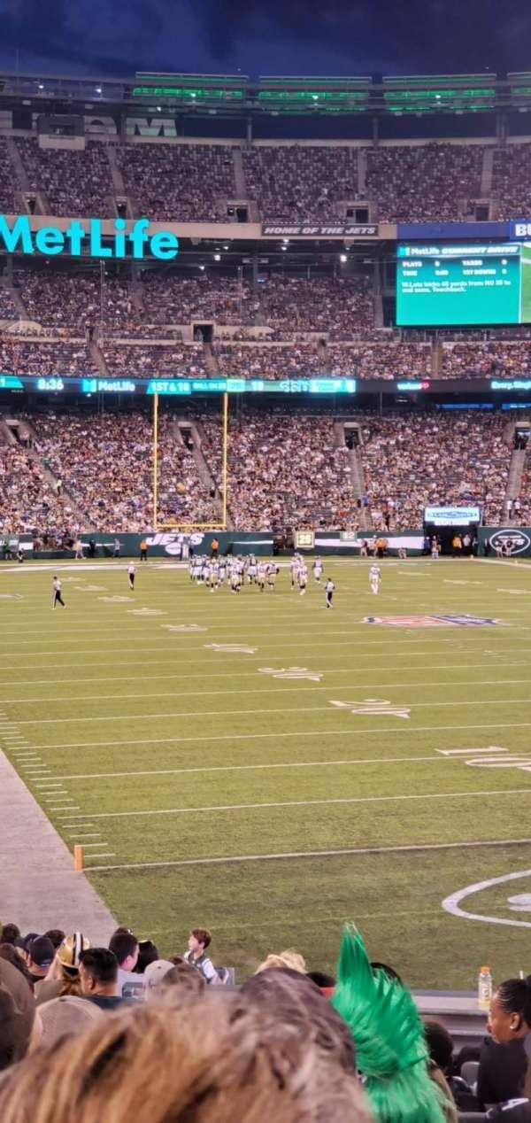MetLife Stadium, sección: 129, fila: 21, asiento: 14