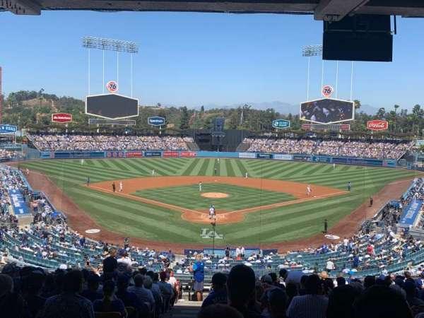 Dodger Stadium, sección: 101LG, fila: S, asiento: 1