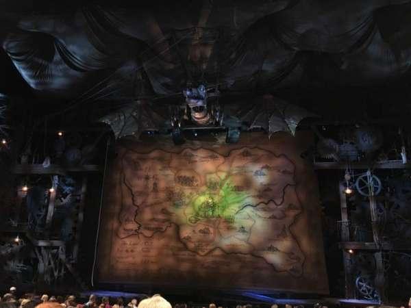 Gershwin Theatre, sección: Orchestra C, fila: M, asiento: 115