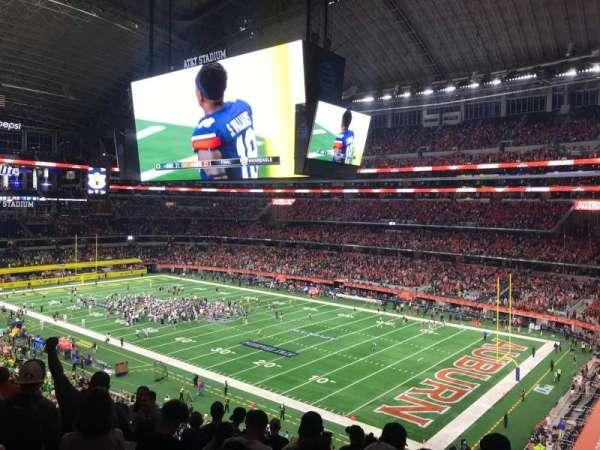 AT&T Stadium, sección: 304, fila: 7, asiento: 7