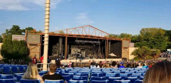 Providence Medical Center Amphitheater, sección: 12, fila: S, asiento: 24