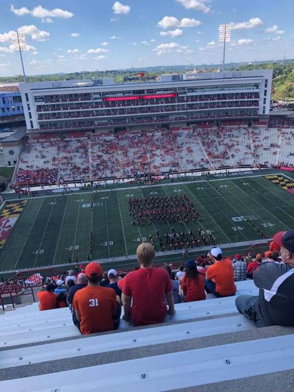 Maryland Stadium, sección: 305, fila: Y, asiento: 8