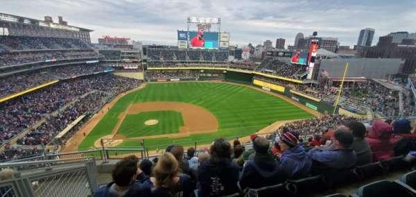 Target Field, sección: 309, fila: 6, asiento: 17