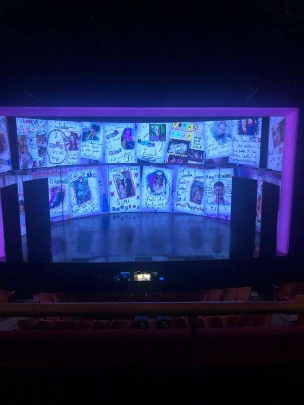 August Wilson Theatre, sección: Mezzanine C, fila: B, asiento: 116