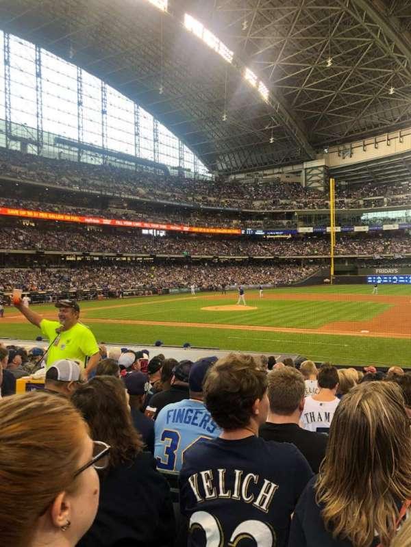 American Family Field, sección: 112, fila: 14, asiento: 6