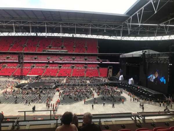 Wembley Stadium, sección: 251, fila: 6, asiento: 279