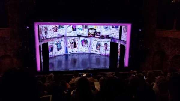 August Wilson Theatre, sección: Mezzanine C, fila: G, asiento: 114