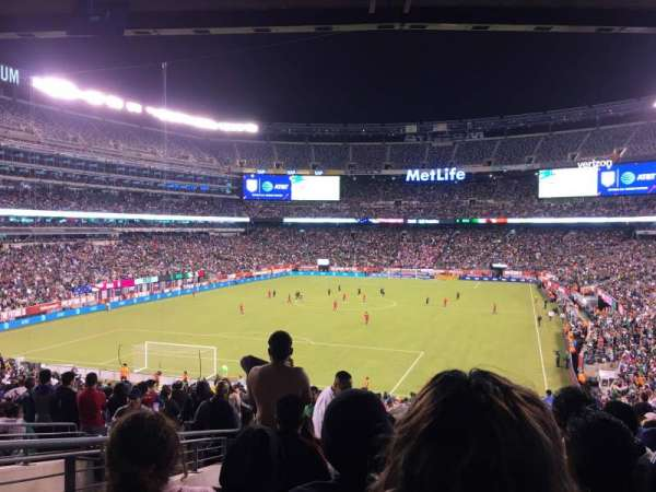 MetLife Stadium, sección: 148, fila: 44, asiento: 29