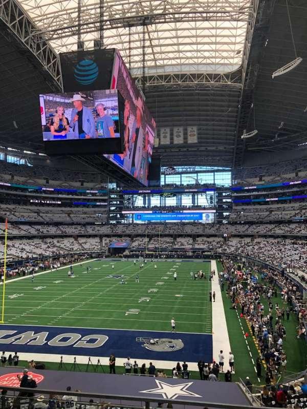 AT&T Stadium, sección: 220, fila: 3, asiento: 7