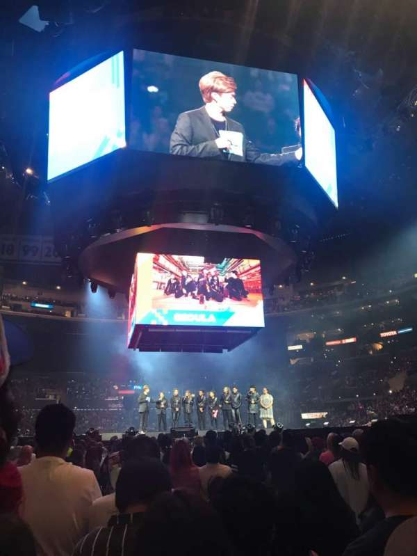 Staples Center, sección: GA