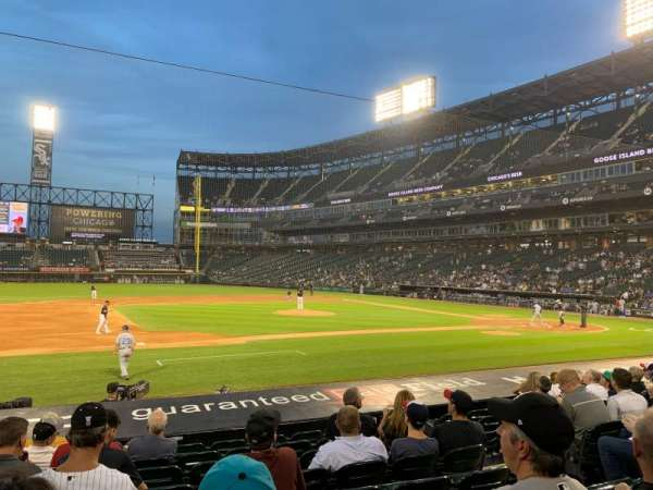 Guaranteed Rate Field, sección: 141, fila: 13, asiento: 7
